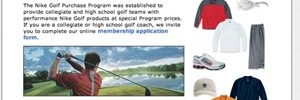 Nike Golf Purchase Program